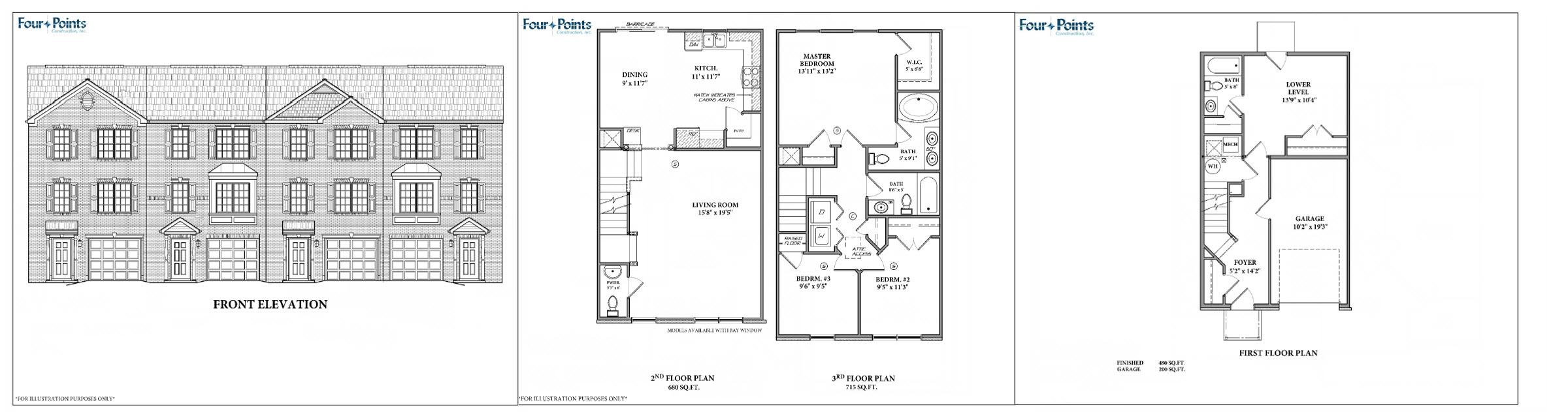 Models Four Points Construction Inc Martinsburg Wv